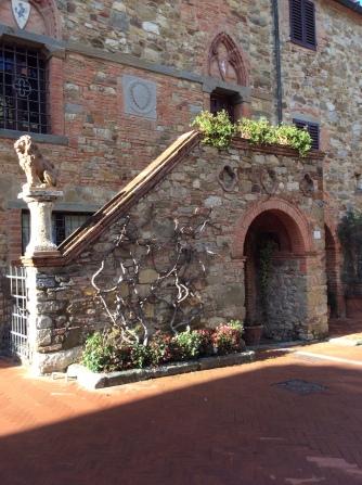 The beautiful hamlet of Montebenichi.